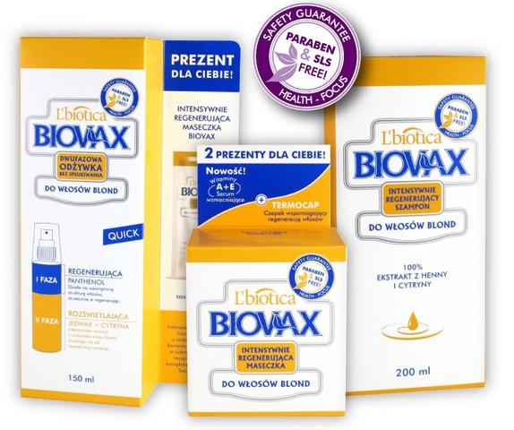 Biovax do włosów blond: intensywne piękno, naturalny blask