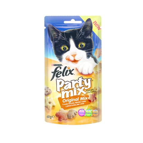 FELIX Party MIX- nowe przekąski dla kocich smakoszy