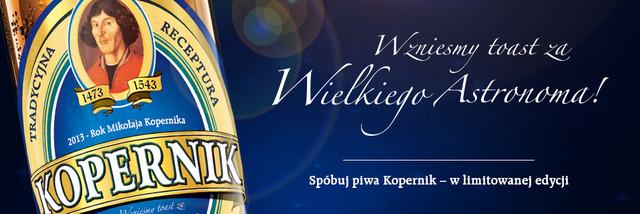 Limitowana edycja piwa Kopernik z Browaru Amber