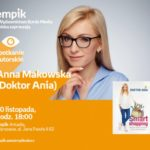 """Doktor Ania i jej """"Smart Shopping"""" w salonie Empik Arkadia"""