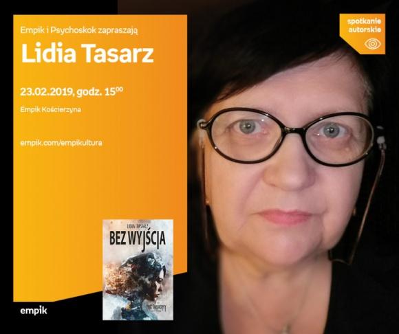 Lidia Tasarz | Empik Kościerzyna LIFESTYLE, Książka - spotkanie