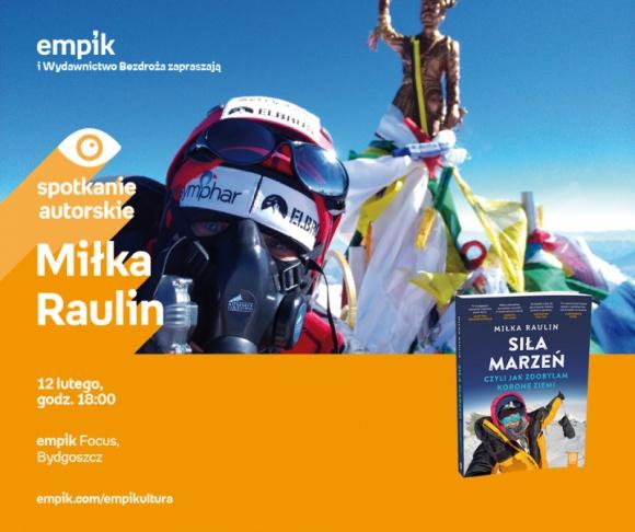 Miłka Raulin | Empik Focus LIFESTYLE, Książka - spotkanie autorskie