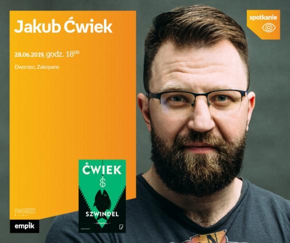 Jakub Ćwiek |Dworzec Zakopane LIFESTYLE, Książka - Jakub Ćwiek promuje nową książkę.