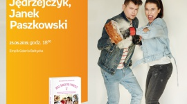Joanna Jędrzejczyk i Janek Paszkowski | Empik Galeria Bałtycka LIFESTYLE, Książka - spotkanie