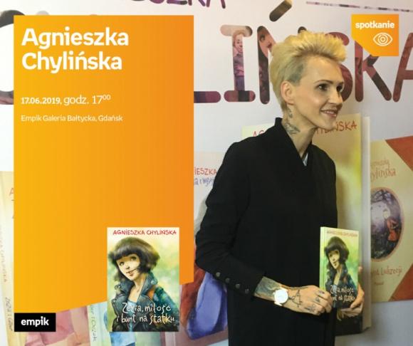 Agnieszka Chylińska | Empik Galeria Bałtycka LIFESTYLE, Książka - spotkanie