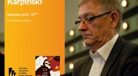 Krzysztof Karpiński. 44 FPFF w Gdyni   Empik Riviera LIFESTYLE, Książka - spotkanie