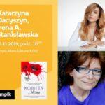 KATARZYNA DACYSZYN oraz IRENA A. STANISŁAWSKA - SPOTKANIE AUTORSKIE - ŁÓDŹ