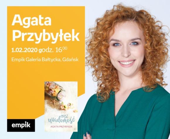 Agata Przybyłek | Empik Galeria Bałtycka LIFESTYLE, Książka - spotkanie