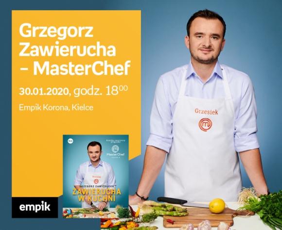 Grzegorz Zawierucha (MasterChef) | Empik Korona LIFESTYLE, Książka - Grzegorz Zawierucha, zwycięzca programu MasterChef w Empik Korona