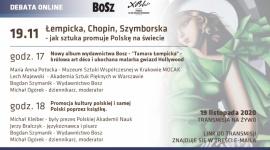Łempicka, Chopin, Szymborska - jak sztuka promuję Polskę na świecie LIFESTYLE, Książka - Już dziś o godz 17:00 rozpocznie się konferencja on-line poświęcona promocji Polski poprzez sztukę i literaturę.